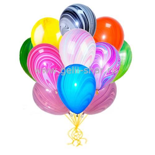 b257a9947631 Облако мраморных шаров Ассорти - заказать в интернет-магазине Gelii ...