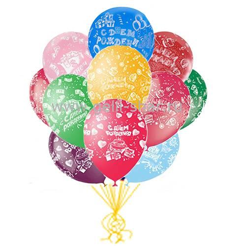 63899ce9b167 Облако шаров С Днем Рождения Конфетки - заказать в интернет-магазине ...