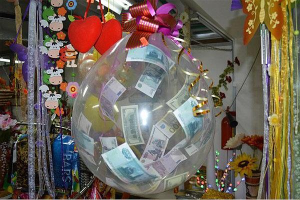 Пиньята из воздушного шарика
