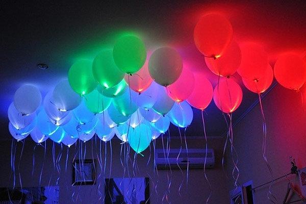 Как сделать светящиеся шары в домашних условиях