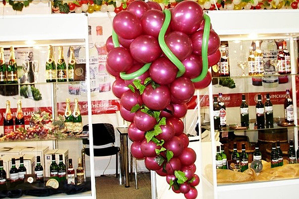 Какие виды шаров используют для выставки